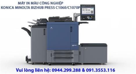 Máy in màu công nghiệp KONICA MINOLTA C1060C1070